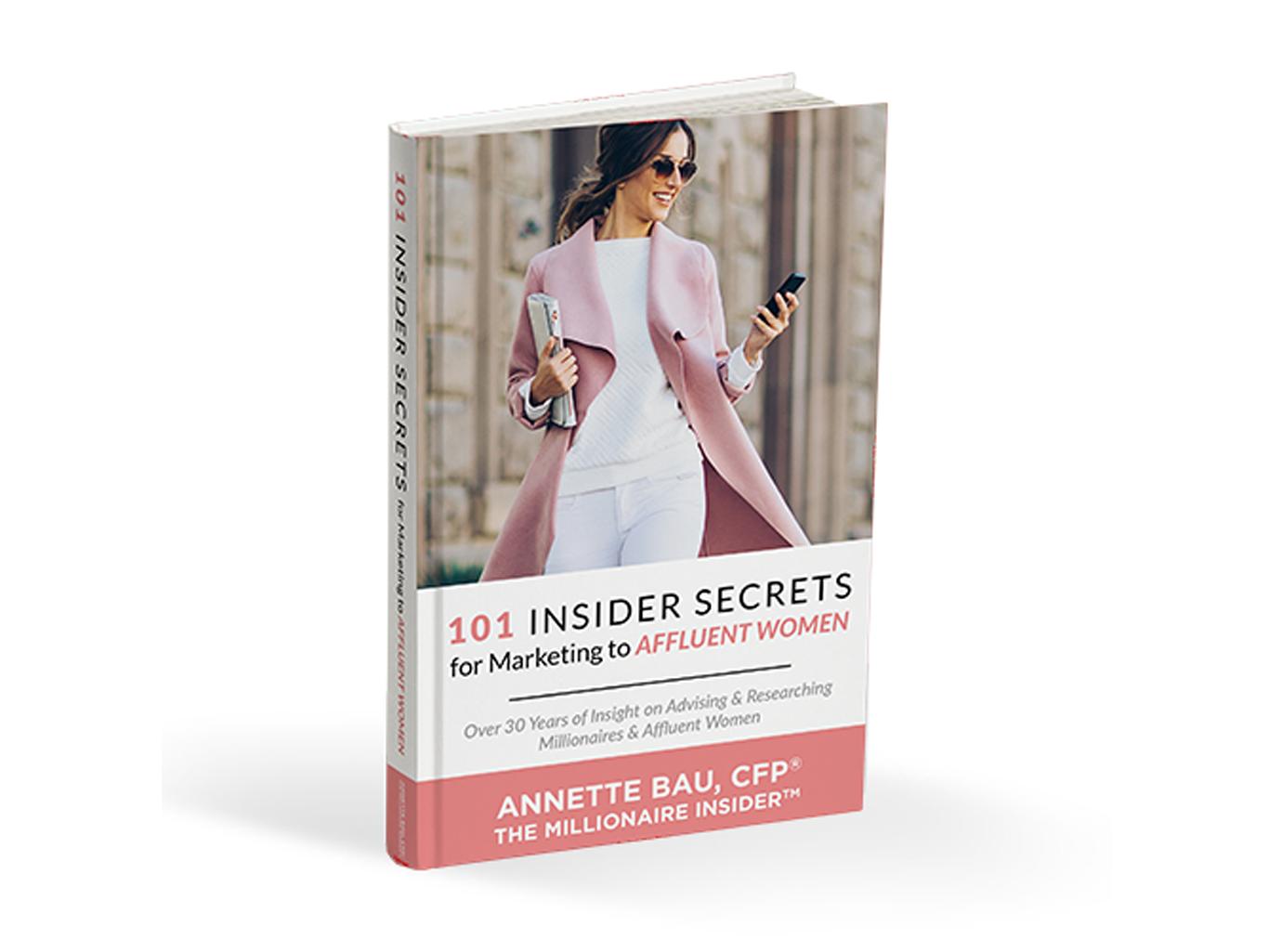 101 insider secrets for marketing to affluent women